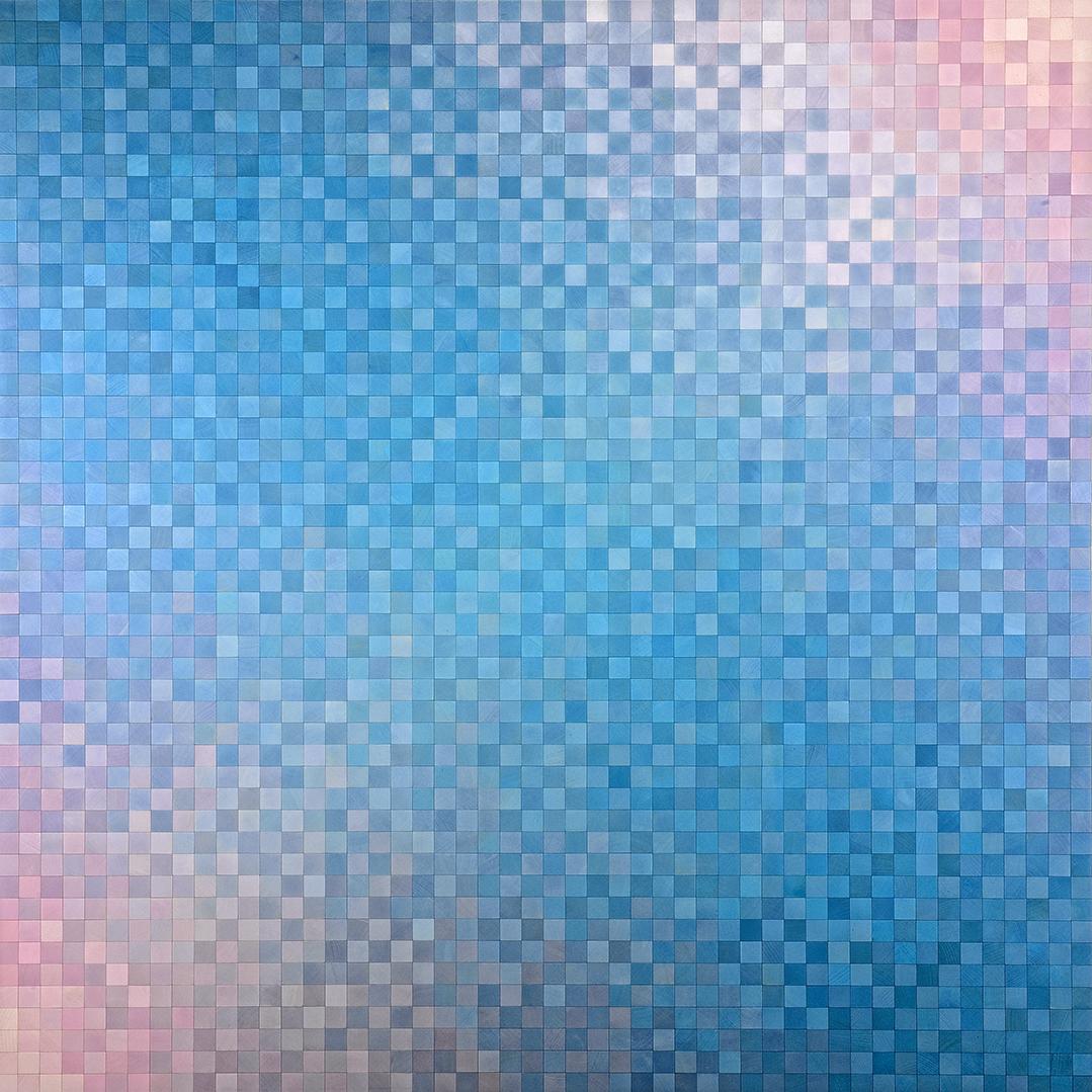 Achim Großmann – Künstler - ArsCubis - Polarisierendes Blau