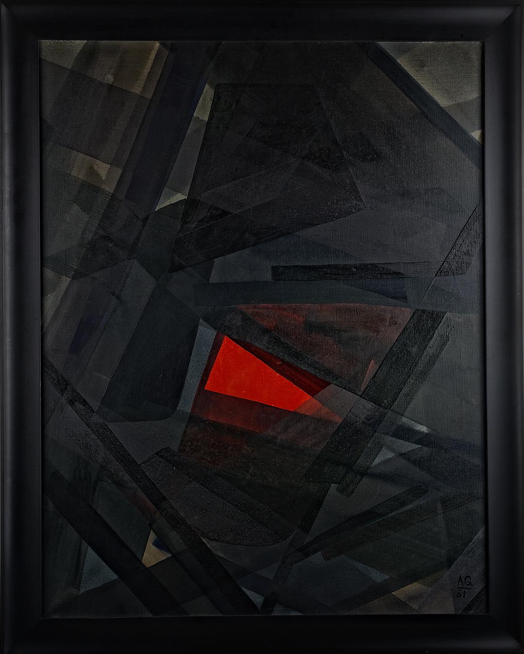 Achim Großmann – Künstler - ArsCubis - Wie hoch ist doch der Preis für ein wenig glühend Rot