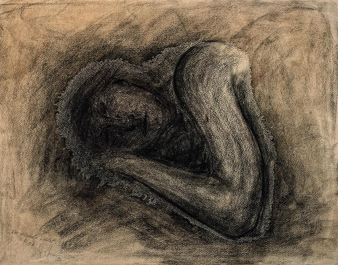 Achim Großmann – Künstler - ArsCubis - Der ersehnte Schlaf