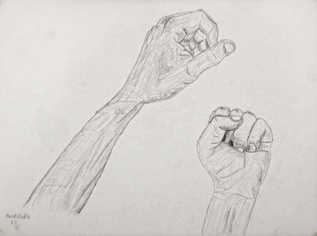 Achim Großmann – Künstler - ArsCubis - Handstudie
